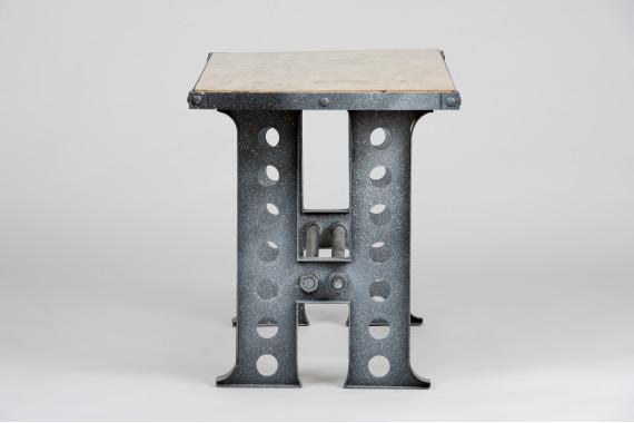 Set Mobilier Industrial Alb Antichizat