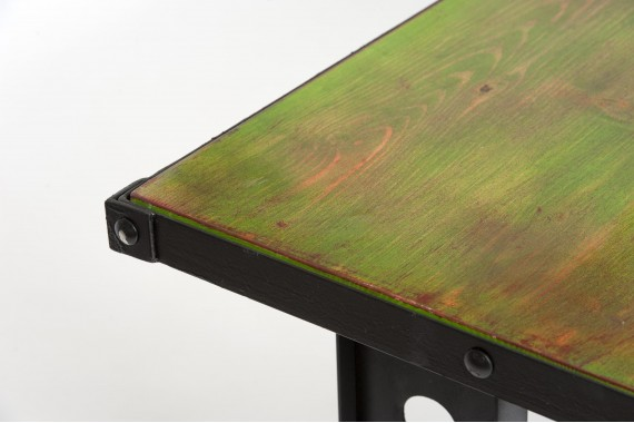 Set Mobilier Industrial Verde