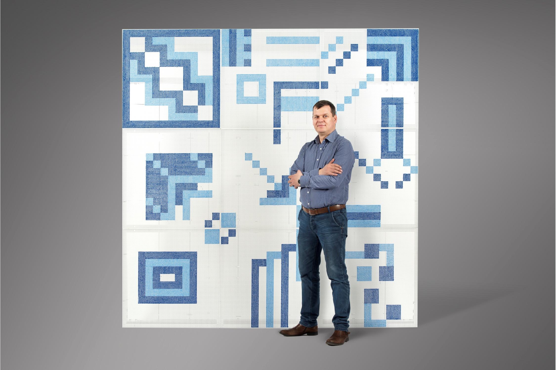 Perete Decorativ Blue Horizon